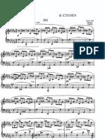 8 Etudes, Op 42