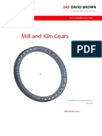 Mill and Kiln Gears Installation Maintenance