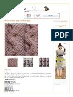 crochet - trança