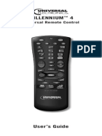Shaw TV Universal Remote User Guide