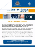 Brochure Vision Strategique Dgi