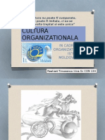 cultura organizationala posta moldovei