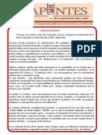 Cual Es La Solucion Policia o MilitaCual res Boletin Apuntes No. 65_1 Romulo EMiliani