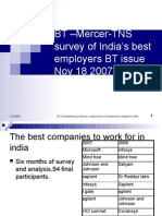 8 Contemporary Issues in Recruitment BT -MercerTNS Survey