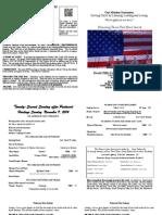 Nov 09, 2014 Bulletin