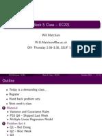 Week 5 Class EC221