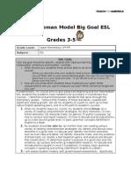 Big Goal Grades 3-5