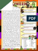 10814 Halloween Reading Worksheet 1