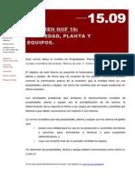 Niif 16 - Inmobilizado Planta y Equipo