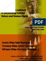 Judge Kohli - Role of India Judiciary in Reconciling Cultural Values and Human Rights