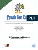 bcom trash for cash project