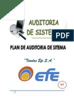 Plan Auditoria Tiendas Efe