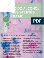 Acido Alcohol Resistentes