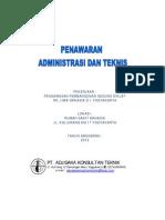 Penawaran Jasa Konsultan Pengawas Rumah Sakit