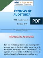Clase 8 -Tecnicas de Auditoria