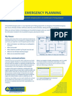 Household Planning Sheet