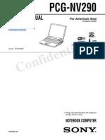 Pcg-nv290 VAIO Service Manual