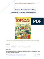 The National Book Festival (USA) Celebrates Reading for Everyone