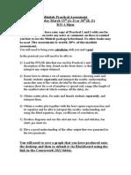 Minitab Practical Assessment Notes 2012