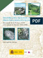 Historia del deslinde de la frontera Hispano-francesa (Joan Capdevila)