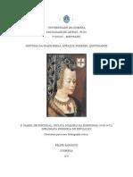 Felipe Parisoto. ME História Da Idade Média. D. Isabel de Portugal
