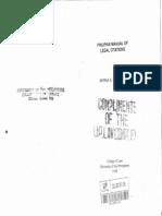 Philippine Manual of Legal Citations (Feliciano)
