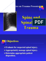 Chapter 7, Spine and Spinal Cord Trauma