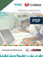 3.- Proyectos Educativos - Beneficios