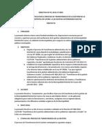 Directiva Nº 01 Transferencia MDC 2014