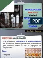 Espiritus Elixires y Tinturas