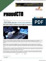 Stat Audio Midió La Audiencia de La Radio en Venezuela _ PRODUCTO
