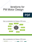 Considerations for PM Motor Design