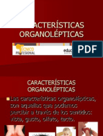 Caract. Organolepticas del pescaqdo
