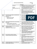 Restoration Agenda--STUDENT Copy 2014