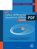 Calcul Differentiel Et Eq