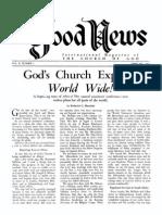 Good News 1961 (Vol X No 02) Feb