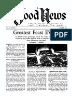Good News 1962 (Vol XI No 10) Oct