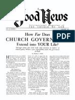 Good News 1961 (Vol X No 01) Jan
