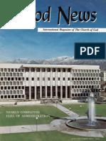 Good News 1969 (Vol XVIII No 01-02) Jan-Feb