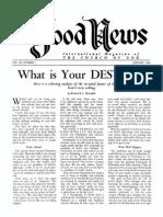 Good News 1960 (Vol IX No 01) Jan