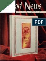 Good News 1967 (Vol XVI No 01) Jan
