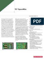 3U CompactPCI Spacewire Datasheet