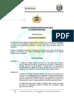 Codigo de Etica Del Colegio de Cirujanos Dentistas de Chile