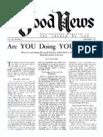 Good News 1960 (Vol IX No 09) Sep