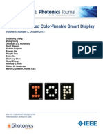 CMOS controlled display