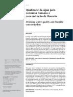 Frazão, Qualidade da água para o consumo humano e concentração de fluoreto, 2011.pdf