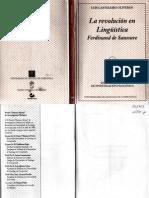 LIBRO La Revolución en Lingüística Ferdinand de Saussure