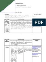 Sci - Sample Lplan on Density, Acids & Bases 09