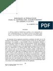 Enfoques alternativos en el estudio del autoritarismo latinoamericano