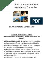 Localización Física y Económica de Plantas Industriales (1)